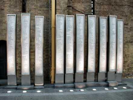 War Memorial Totems